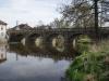 Most přes řeku Skalici v Mirovicích