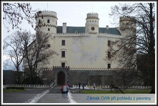 zámek Orlík